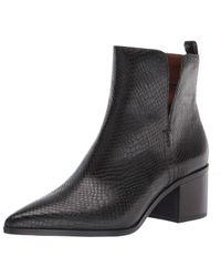 Franco Sarto Black Darona Western Boots