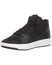 Skechers Black Downtown-fly High Fashion Sneaker