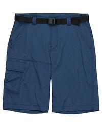 Columbia Blue Battle Ridge Ii Shorts, S, Battle Ridge Ii for men