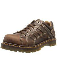 Dr. Martens Brown Keith Shoe,tan Greenland,10 Uk/11 M Us for men