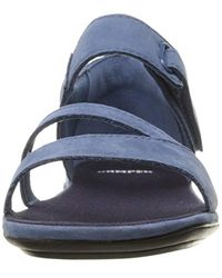 Camper Blue Right Nina K200444 Flat Sandal