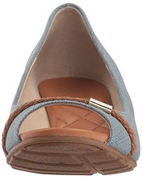 Cole Haan - Blue Emory Ot Wedge Braided Band Pump - Lyst