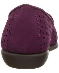 Aerosoles Purple You Betcha Slip-on Loafer