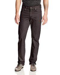Woolrich Black The Guide Five-pocket Pant for men