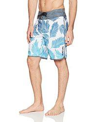 "Rip Curl Blue Mirage Mason Rockies 20"" Stretch Boardshorts for men"