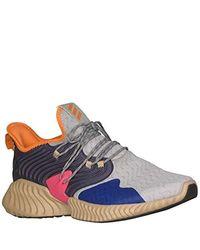 Adidas Blue Alphabounce Instinct Running Shoe for men