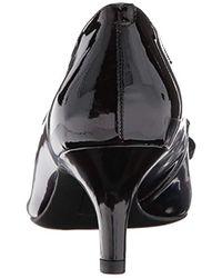 Anne Klein Black Fia Pump