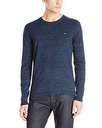 DIESEL Blue K-maniky Pullowver Crew Neck Sweater for men