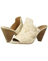 Lucky Brand Natural Emree Heeled Sandal, Sandshell, 7 M Us