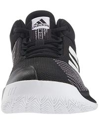 Adidas Black Pro Spark Low 2018 Ankle-high Fabric Basketball Shoe for men