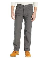 Timberland Gray 8 Series Flex Canvas Work Pant for men