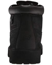 Skechers Black Sergeants-verdict Fashion Boot for men