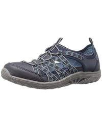 Skechers Blue 49359 Slip On Trainers