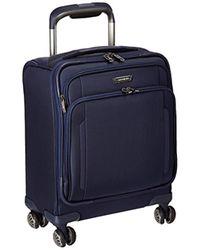 Samsonite Blue Silhouette Xv Softside Spinner Boarding Bag for men