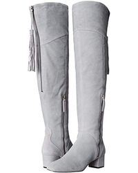 Nine West Gray Anilla Over-the-knee Boot