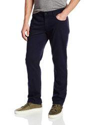 PAIGE Blue Slim Straight Fit Jean for men