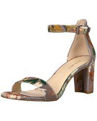 Nine West Multicolor Pruce Fabric Sandal