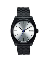 Nixon Time Teller -spring 2017- Black/silver