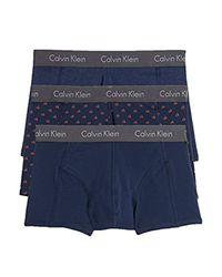 Calvin Klein Blue Trunks for men