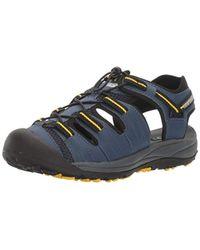 New Balance Blue Appalachian Sandal for men