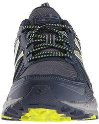 New Balance Blue Mt410v5 Cushioning Trail Running Shoe for men