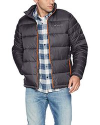 Columbia Gray Frost Fighter Jacket for men