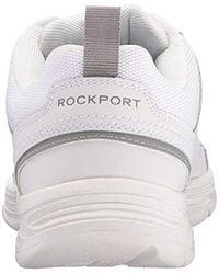 Rockport White U Bal Fashion Sneaker for men