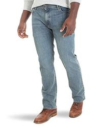 Wrangler Blue Regular Fit Comfort Flex Waist Jean for men