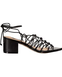 Steve Madden Black Illie Dress Sandal