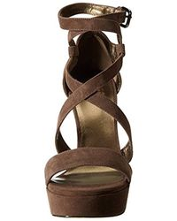 Stuart Weitzman Multicolor Streamer Platform Sandal