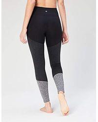 "Core 10 Gray Amazon Brand - (xs-3x) Bold Colorblock High Waist Yoga Full-length Legging-28"""
