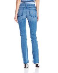 NYDJ Blue Billie Mini Bootcut Jeans