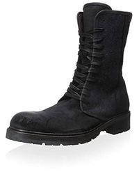John Varvatos Black Star G Open Lace-up Boot for men