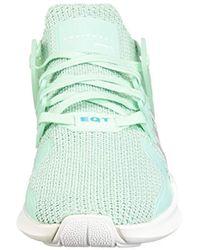 Adidas Originals Green Eqt Support Adv Running Shoe