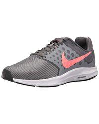 3509345c602566 Women s Gray Downshifter 7 Wide Running Shoe