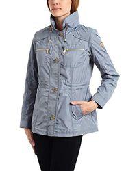 Vince Camuto Blue Spring Gold Jacket Coat