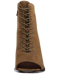 Frye Multicolor Amy Peep Lace Boot