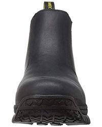 Skechers Black Work Hartan Glendo Steel Toe Boot for men