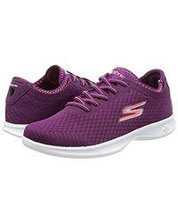 Skechers Purple Performance Go Step Lite-agile Walking Shoe