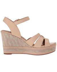 Clarks Multicolor Zia Noble Wedge Sandal