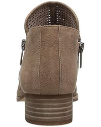 Vince Camuto Brown Canilla Ankle Bootie