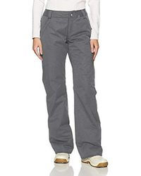 Volcom Gray Frochickie Insulated 2 Layer Shell Snow Pant