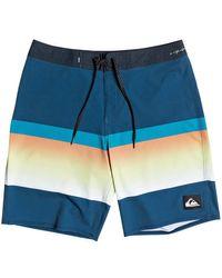 Quiksilver Highline Slab 20 Boardshort Badehose Majolica Blue für Herren