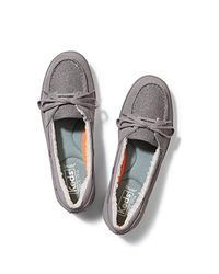 Keds Gray Glimmer Suede Sneaker