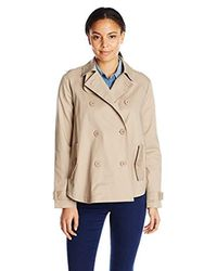 BB Dakota - Natural Ranae Trench Poncho Jacket - Lyst