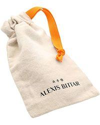Alexis Bittar - Metallic Sliding Metal Bead Pendant Necklace - Lyst