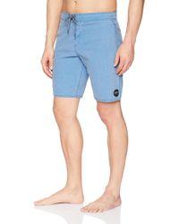 O'neill Sportswear Vintage Wash Cruzer Stretch Boardshort in Blue für Herren