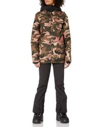 Volcom Black Kuma Breathable Snow Jacket