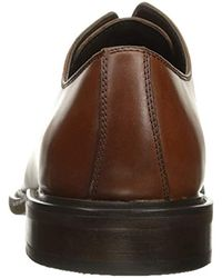 Kenneth Cole Reaction Brown Account-ant Oxford for men