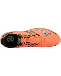 Saucony Orange Kilkenny Xc7 Spike for men